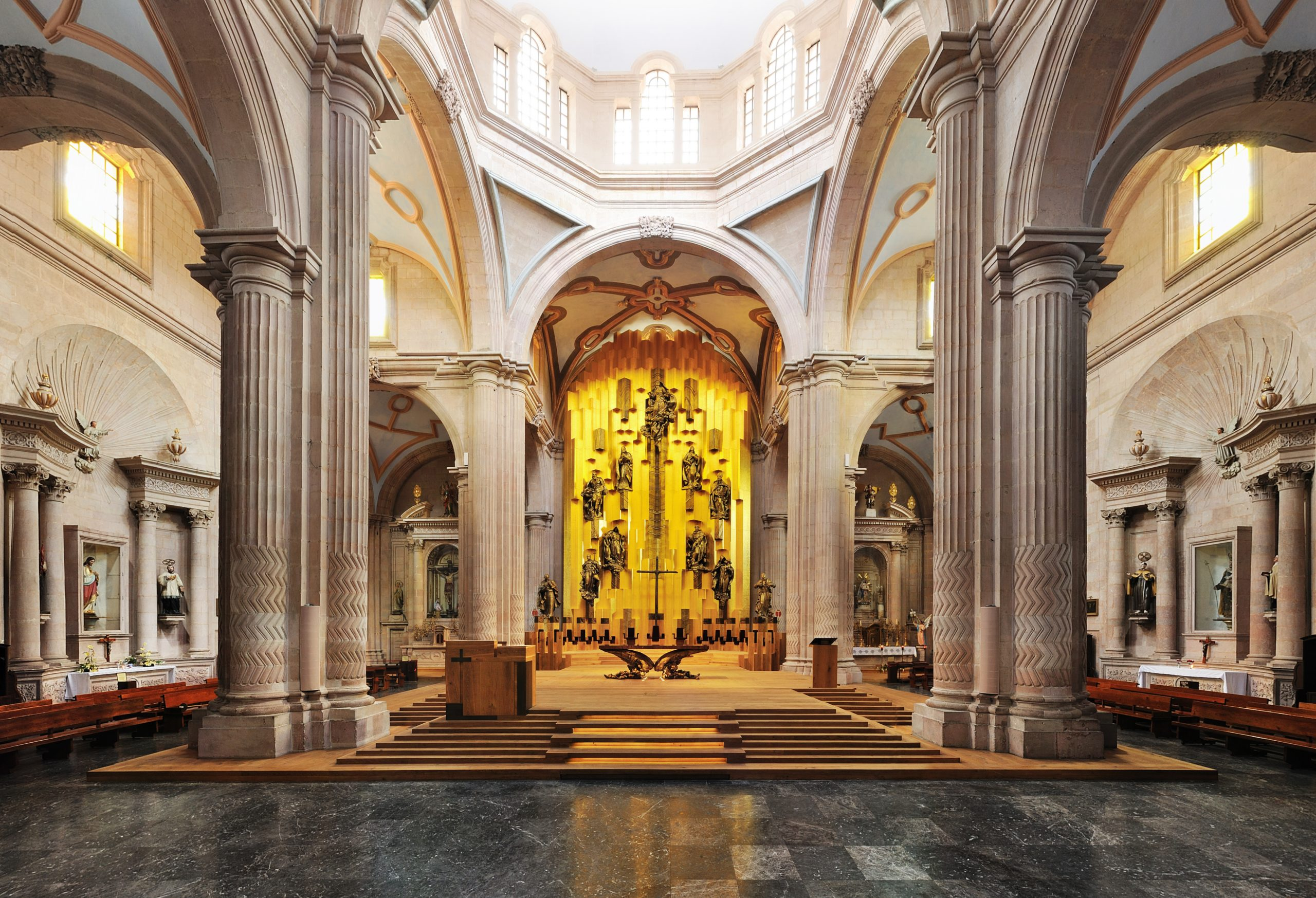 Vergoldeter Altar, Mexico